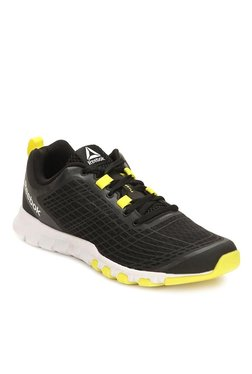 0206d5fa4d0d Reebok Everchill Black   Yellow Training Shoes