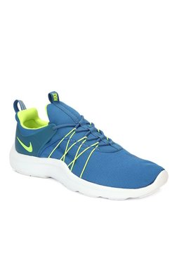 Nike Darwin Blue & Green Running Shoes