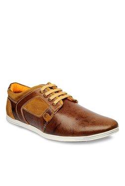 Buckaroo Brenzo Dark Brown & Tan Sneakers