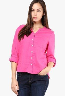Vero Moda Pink Lace Shirt