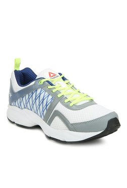 Reebok Smooth Flyer 2.0 White & Blue Running Shoes