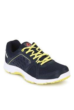 0b8c302c10f5 Reebok Edge Quick Navy Running Shoes