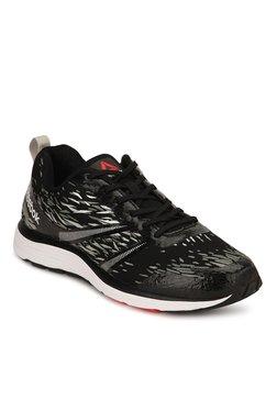5921304691b843 Reebok Distance Sierra Black   Grey Running Shoes