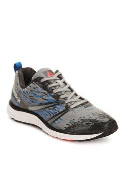 658e265b86d8 Reebok Distance Sierra Grey   Blue Running Shoes