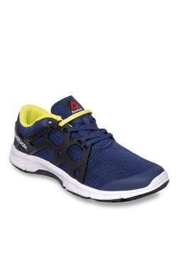 Reebok Gusto Run Blue & Black Running Shoes