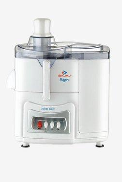 Bajaj Majesty One 500 Watts 1 Jar Juicer (White)