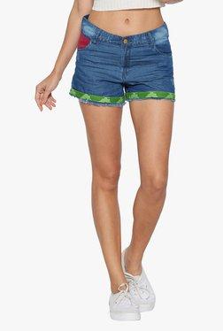 Globus Blue Denim Shorts