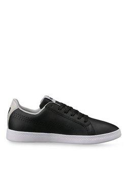 Puma Smashs Perf Black & Light Grey Sneakers