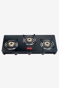 Prestige Marvel GTM 03 3 Burners Gas Stove (Black) - Mp000000001834302