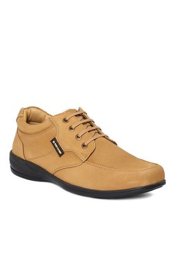 Red Chief Camel Derby Shoes