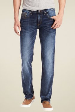 Lee Indigo Slim Fit Mid Rise Jeans