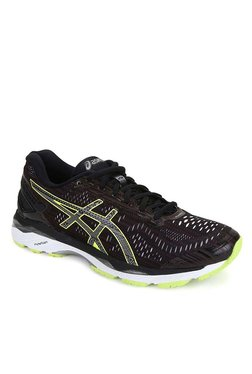 Asics Gel-Kayano 23 Lite Black Running Shoes
