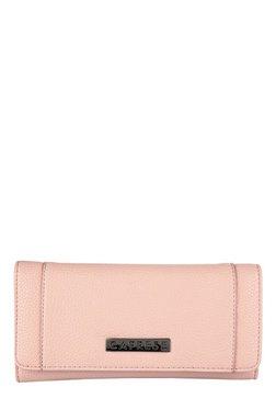 Womens Fan Laser Cut Wallet Pink (Mid Pink) New Look WV7FXp
