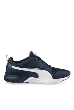 Puma Bmw Ms Pitlane White Running Shoes for Men online in India at ... 24d669cfb