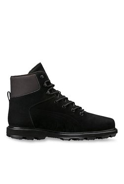 Puma Desierto Fun Black & Dark Grey Casual Boots