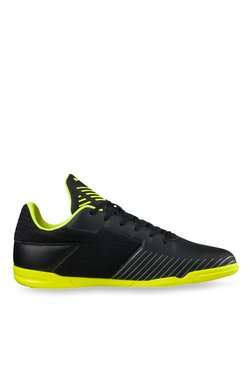 Puma 365 CT Black & Safety Yellow Indoor Court Shoes
