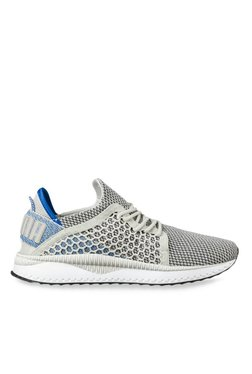 7a21505e786 Puma TSUGI Netfit Light Grey   Blue Training Shoes