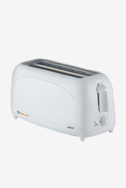 Bajaj Majesty ATX 21 700 W 4 Slice Pop Up Toaster (White)