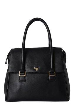 Baggit L Babel Times Black Solid Shoulder Bag