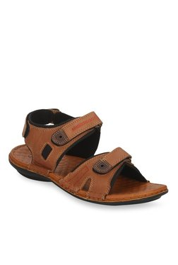 Red Tape Tan Floater Sandals