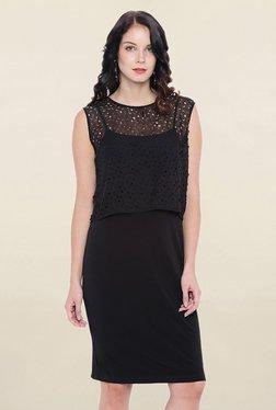 Avirate Black Lace Dress - Mp000000001843880