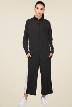 Puma Black Full Sleeves Jumpsuit