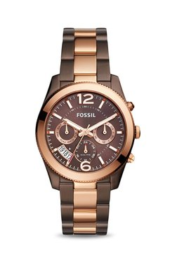 Fossil ES4284 Perfect Boyfriend Analog Watch For Women