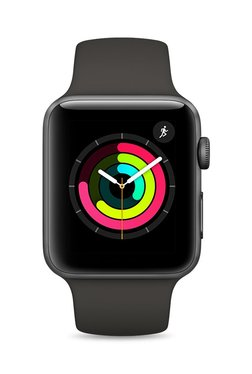 Apple MR362 Series 3 GPS 42mm Space Grey Aluminium Watch TATA CLiQ Rs. 31490.00