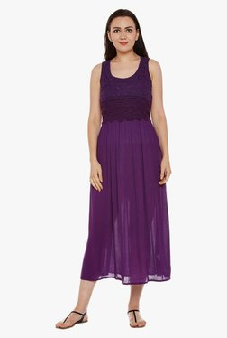 Oxolloxo Purple Lace Dress