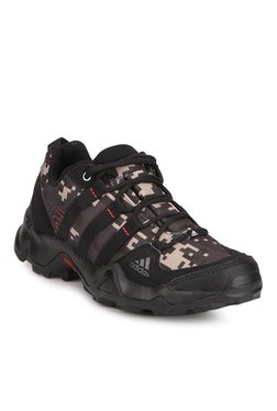 Adidas AX2 Black & Brown Hiking & Trekking Shoes