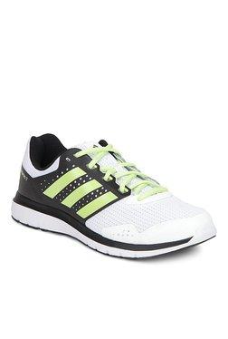 44b2ab4f13e Adidas Duramo Elite White   Black Running Shoes