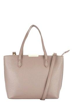 Caprese Marie Light Brown Solid Shoulder Bag