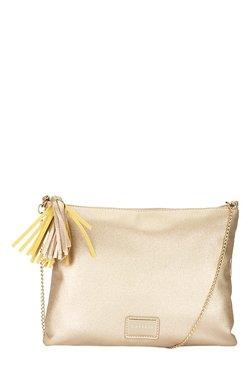 Caprese London Golden Tassel Sling Bag