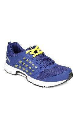 e1366c1a6e6b66 Reebok Cruise Ride Blue   Yellow Running Shoes