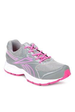 Reebok Grey   Pink Running Shoes 09765643c