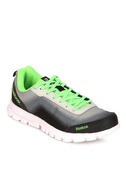 Reebok Reeduo Speed Steel Grey   Black Running Shoes 337672156