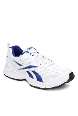 Reebok Active Sport 2 White & Blue Running Shoes