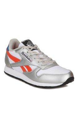 Reebok Classic Protonium LP White   Silver Running Shoes a8a1e528d