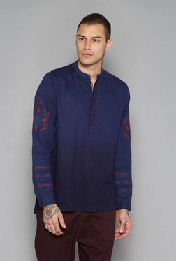 ETA By Westside Indigo Slim Fit Kurta