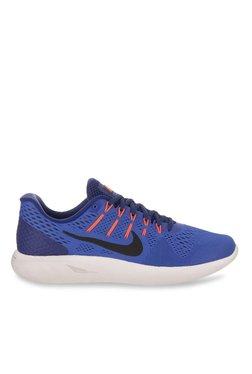 buy popular fb260 e7331 Nike Lunarglide 8 Blue Running Shoes