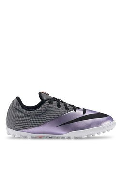 59a913cc4d3 Nike Mercurialx Pro TF Purple   Black Football Shoes