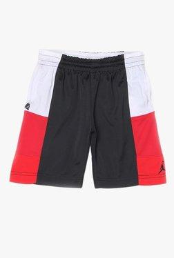 731861ed084b0e Jordan Kids Black   Red Textured Shorts