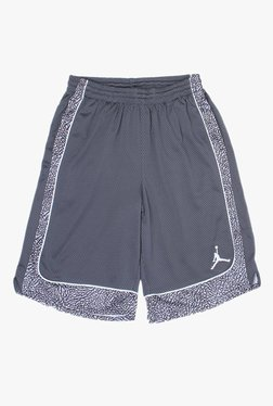d61891d19693d8 Jordan Kids Grey Printed Shorts