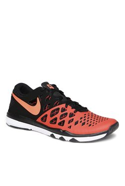 467ffe0cc378 Nike Train Speed 4 Orange   Black Training Shoes
