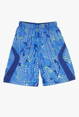 18658bdf25ce03 Jordan Kids Blue Printed Shorts
