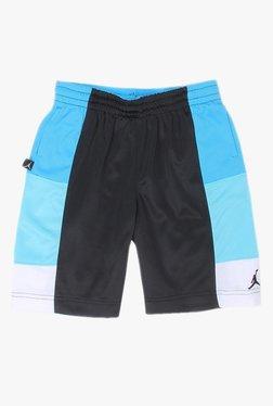 ad6fa816c0860e Jordan Kids Black   Blue Solid Shorts