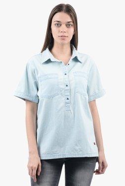 Pepe Jeans Blue Short Sleeves Shirt