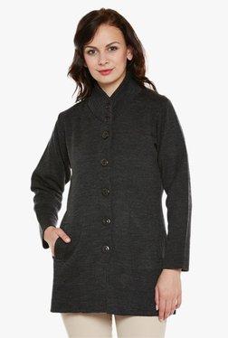 Cayman Dark Grey Textured Coat