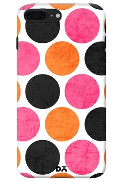 DailyObjects Party Polka Dots Case For IPhone 8 Plus