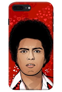 DailyObjects Bruno Mars Close Up Case For IPhone 8 Plus